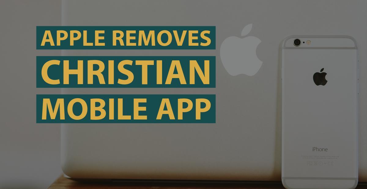 Apple Corporation participates in Christian persecution