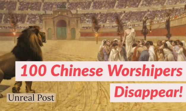100 Christians in China Disappear Overnight Taken by the Chinese Government