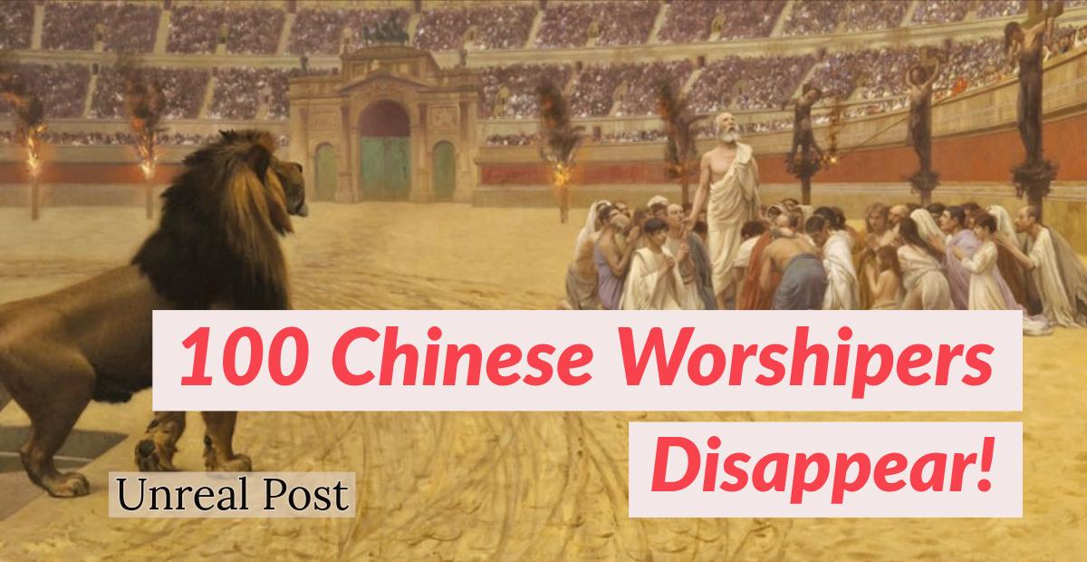 100 Chinese Worshipers kidnapped