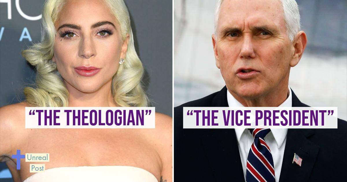 Mike Pence is the worst says Lady Gaga