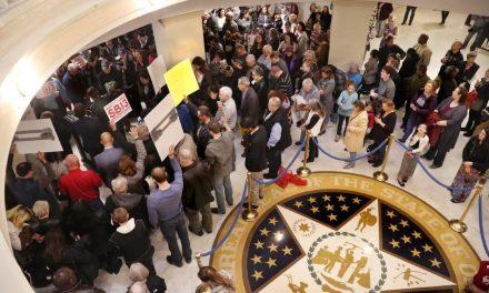 Hundreds Rally for Oklahoma Bill Would Ban All Abortions, Make Killing Babies a Felony