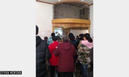 CCP Continues to Thumb Down House Churches