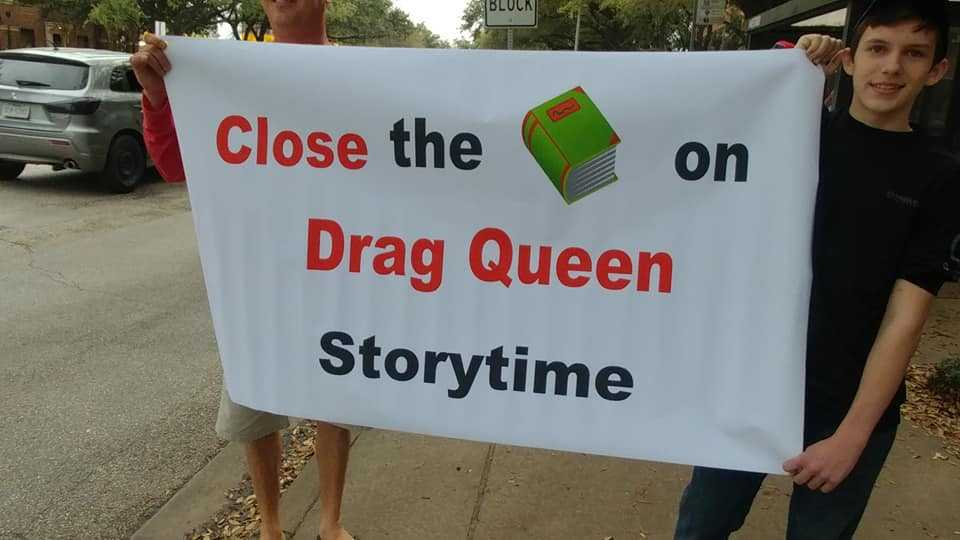 Houston 'Drag Queen Story Time' Program Halted Amid Outrage That Sex Offender Read to Children at Library