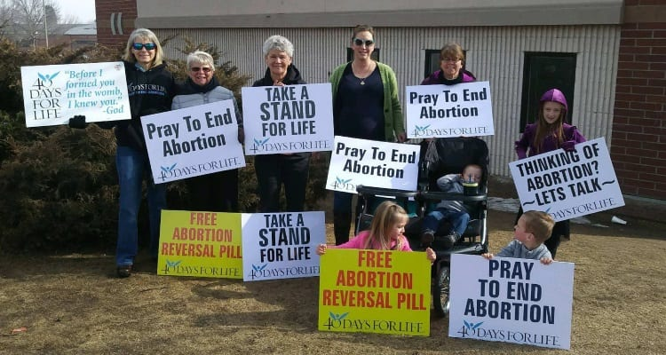 31 Babies Saved From Abortion During First Week of 40 Days for Life Prayer Campaign