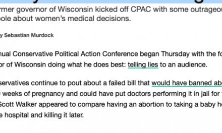 FAKE NEWS: Media misleads on Scott Walker's abortion remarks