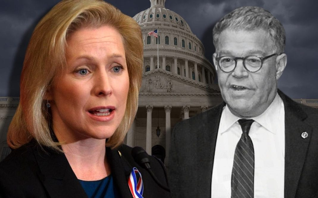 """Pro-Abortion Presidential Candidate Kirsten Gillibrand: """"We All Miss"""" Al Franken Even Though He Groped Women"""