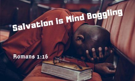 Salvation is Mind Boggling – The Creator God Reconciled the Whole World to Himself In-spite of Our Sinful Life