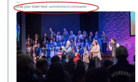 Pastor of Summit Church and President of Southern Baptist Convention JD Greear Charging $5 to Worship on Good Friday – Sickening