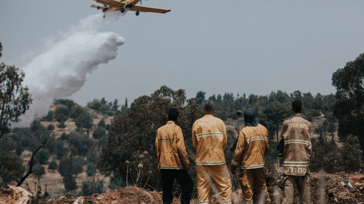 1,700 Fires Extinguished in Israel Over Three Days Amid Intense Heatwave