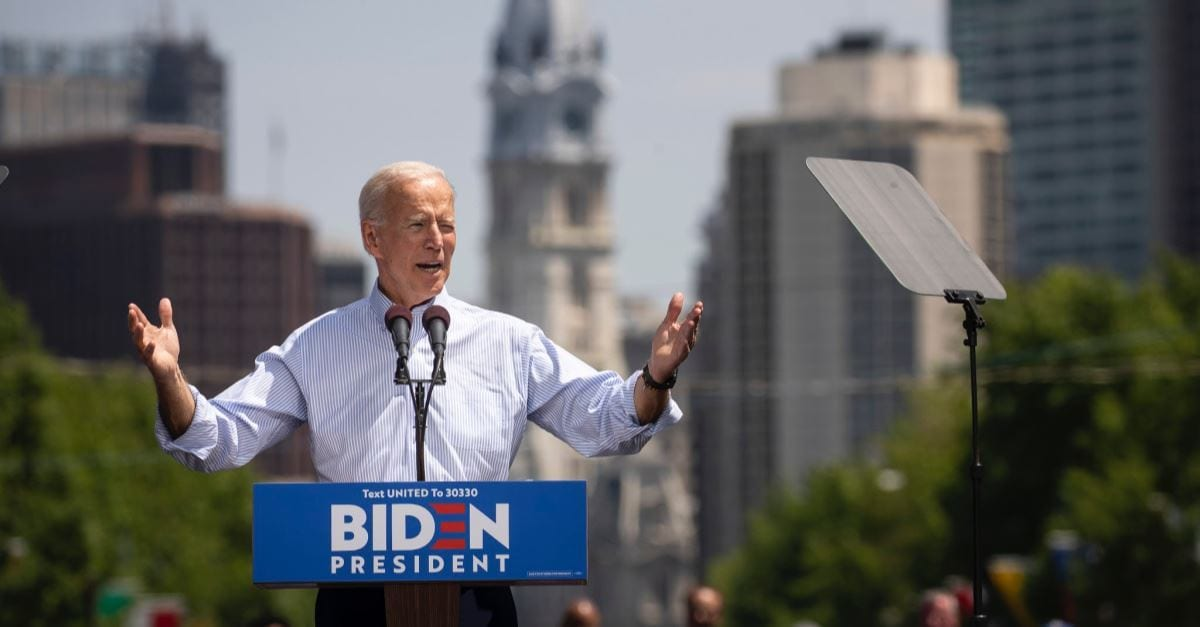 Joe Biden Says He Would Support Making Abortion Rights Federal Law 'Should it Become Necessary'