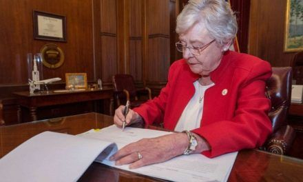 Alabama Governor Kay Ivey Signs Bill Banning Abortion, Would Make Killing Unborn Babies a Felony
