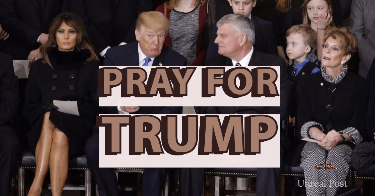 Franklin Graham Calls for Day of Prayer for President Trump on June 2