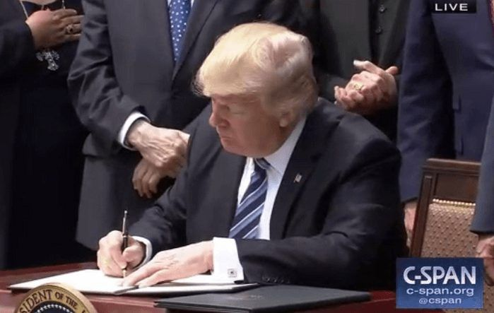 Thank You President Trump For Stopping Government Research Using Aborted Baby Parts