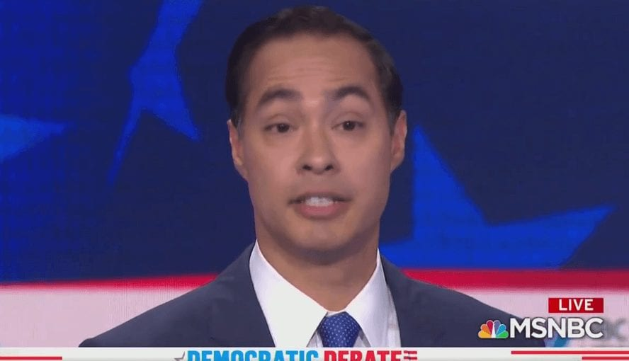Julian Castro Says Biological Men Have the Right to Kill Babies in Abortions Too
