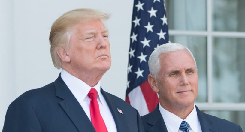 "Trump Confirms Pro-Life Mike Pence Will be His 2020 Running Mate: ""He's Been a Terrific Vice President"""