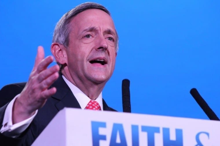 2020 Dems appeal to an 'imaginary god created in their own minds,' Robert Jeffress says
