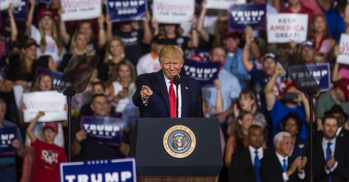 Supporters 'Appalled' that Trump Took 'God's Name in Vain' at Rally