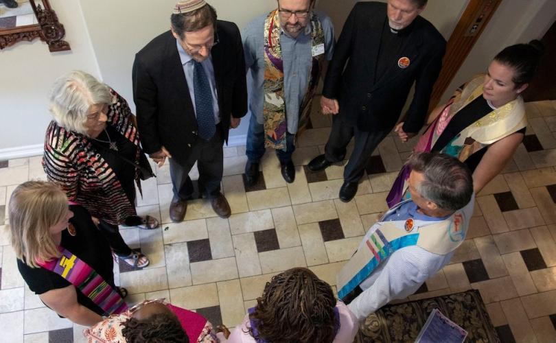 Left-wing clergy gather to 'bless' scandal-plagued Texas abortion facility