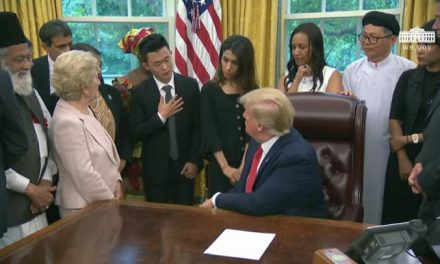 Christians Among Those Represented as Trump Meets Global Survivors of Religious Persecution