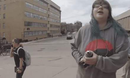 WATCH: Feminist Arrested After Assaulting Pro-Lifers and Spray-Painting Their Signs