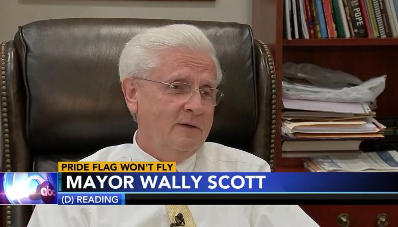 Pa. Mayor Changes Course, Will Now Allow Pride Flag to Be Flown at City Hall