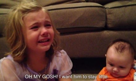 """Sister Who Learns Her Brother Will Grow Up: """"Oh My Gosh, I Want Him to Stay Little"""""""