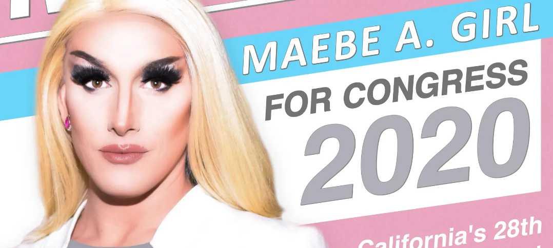 'Genderfluid' Calif. Drag Queen Running for US Congress