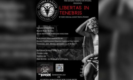 Satanic Temple in Ottawa plans to hold first black mass in Canada August 17