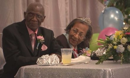 He's 103, She's 100, and They Just Celebrated 82 Years of Marriage
