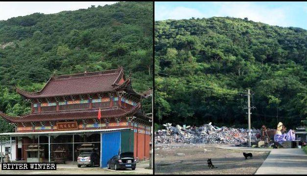 "Zhejiang Authorities Demolish Temples as ""Illegal Buildings"""