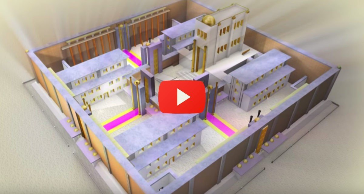 The third Temple is coming, Watch Video and See What it Will look like