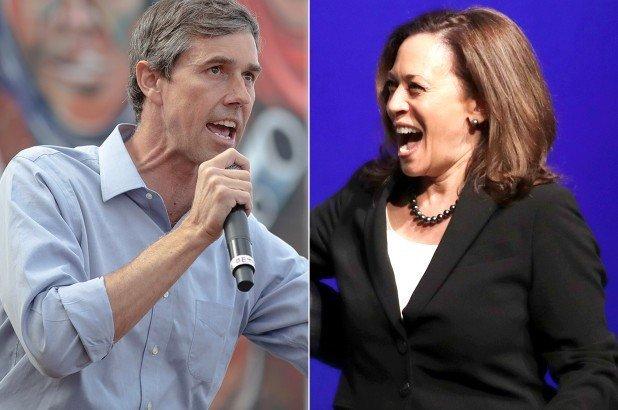 Kamala Harris, Beto O'Rourke Mad They Didn't Get to Celebrate Abortion During Democrat Debate