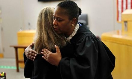 Judge hugs Amber Guyger, gives her a Bible after murder conviction, causing stir