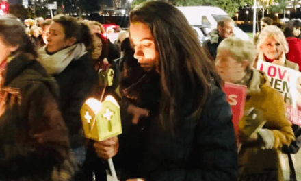 Hundreds of Pro-Life People Gather to Mourn Babies Killed in Abortions