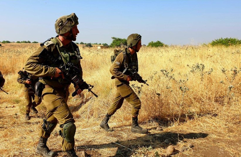 IDF's 215th Division drills for war with Hezbollah