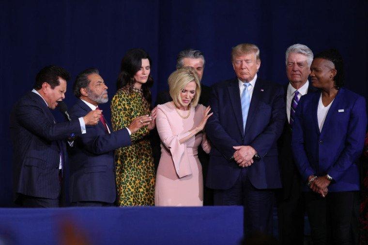 Trump warns evangelicals: Democrats want to impose 'anti-religious agenda' on America