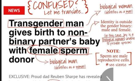 Pastor Gives His 'Translation' of News Headline on Transgender Man Giving Birth