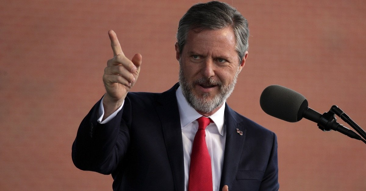 Jerry Falwell, Jr. May Call for 'Civil Disobedience' if Virginia Passes New Gun Control Laws