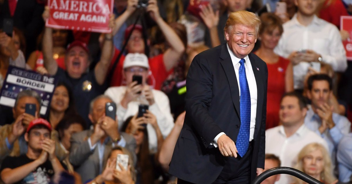 Pro-Life Group Pledges $52 Million to Re-Elect Trump, 'the Most Pro-Life President' in History