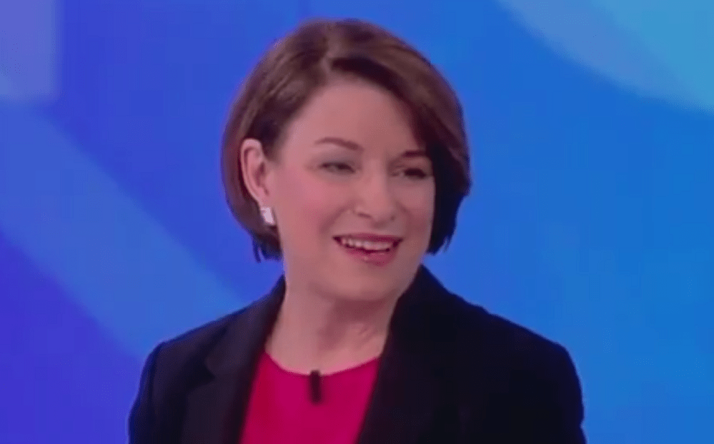 Amy Klobuchar: OK for Pro-Life Democrats to Vote for Me, OK to Kill Babies in Abortion