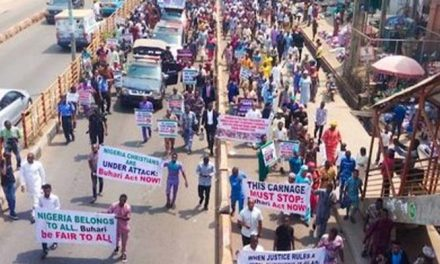 Five million people march against persecution of Christians by Islamist extremists in Nigeria