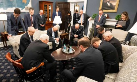 Vice President Mike Pence Mocked for Praying with Coronavirus Task Force
