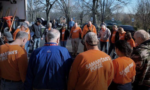 Billy Graham Rapid Response, Samaritans Purse Sharing Hope with Tennessee Tornado Survivors