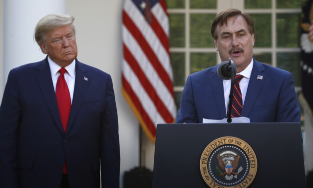 MyPillow CEO Mike Lindell at White House: Use this Time to get Back in the Word, calls People to Pray