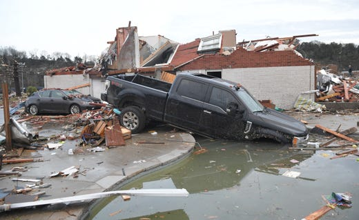 Nashville tornado: Latest news and updates on damage, shelter and impact from powerful storm