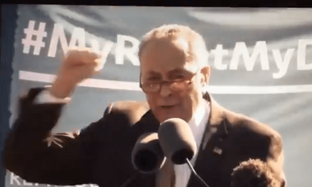 """Chuck Schumer Threatens Gorsuch and Kavanaugh if They Uphold Pro-Life Law: """"You Will Pay the Price"""""""