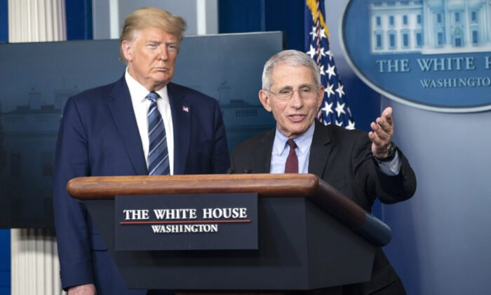 White House: President Trump Not Firing Dr. Fauci