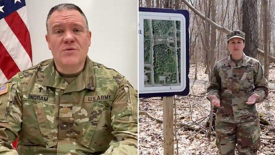 Army chaplains' prayer videos during coronavirus removed from Facebook after complaints