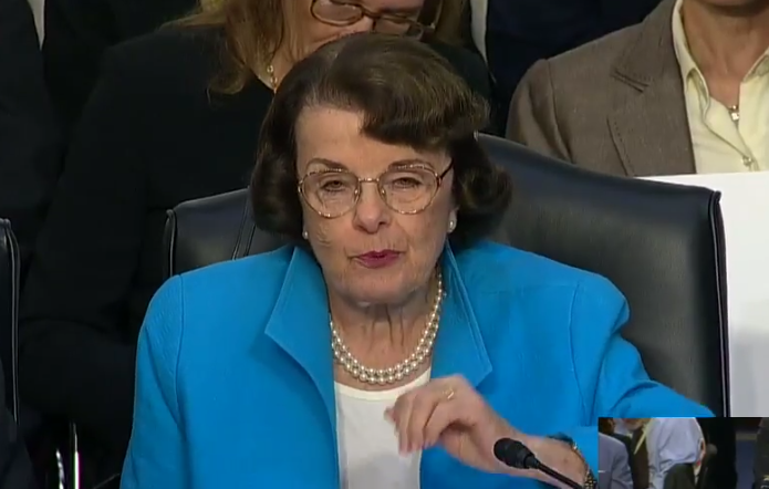 Diane Feinstein: Not Hypocritical to Save People From Coronavirus and Kill Babies in Abortions