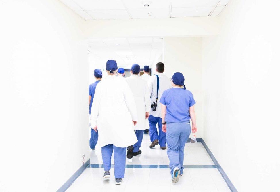 Vanderbilt Nurses Pray Over University Medical Center Caring for Coronavirus Patients